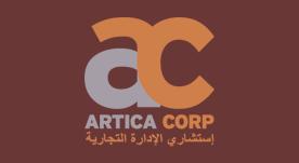 Logotipo Artica corporation