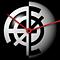 Diseño bicolor del anagrama de los relojes de diseño ÆØ