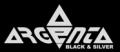 Logo, anagrama y slogan de marca de relojes de plata