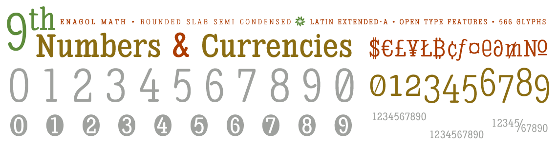 Enagol Math -Numbers & Currencies-