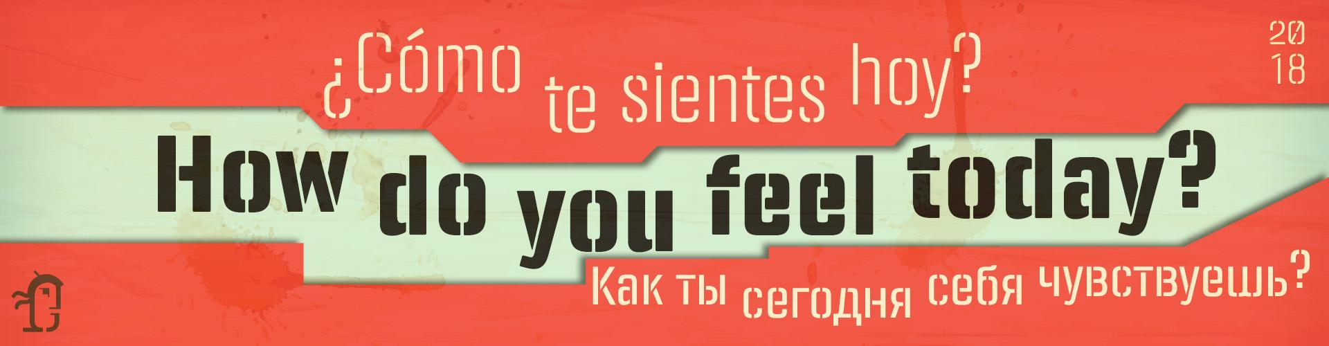 Panfleta Stencil Typefaces- How do you feel today?
