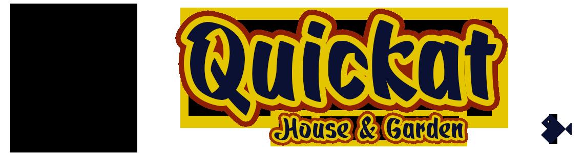 Quickat Script Font. House & Garden.