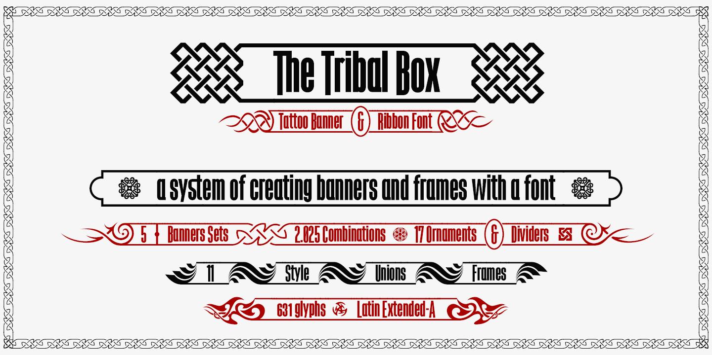 The Tribal Box Font