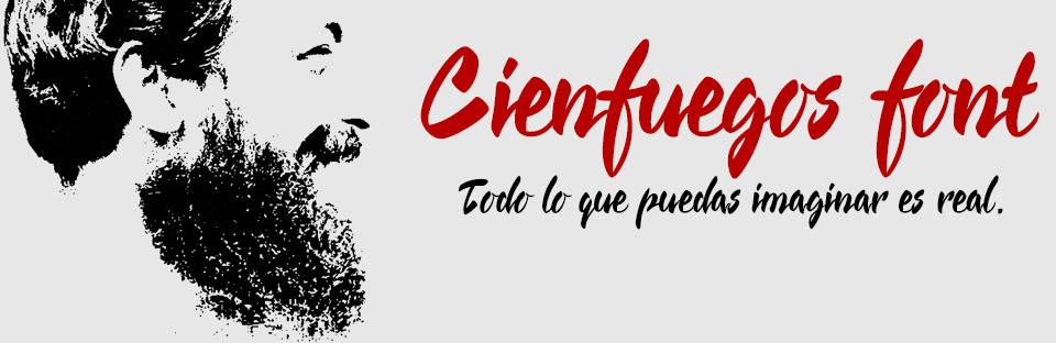Cienfuegos a concatenated handwritten typeface