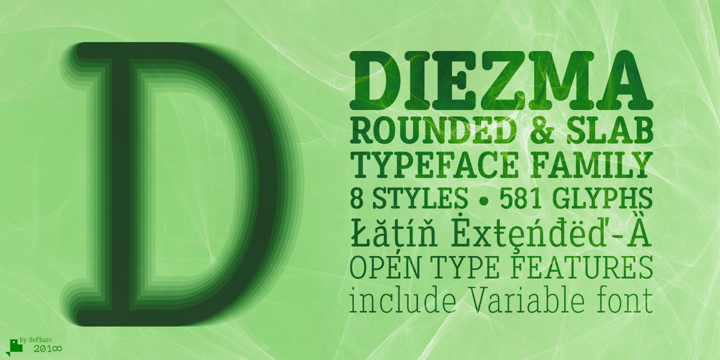 Diezma-Rounded-Slab-family-fonts