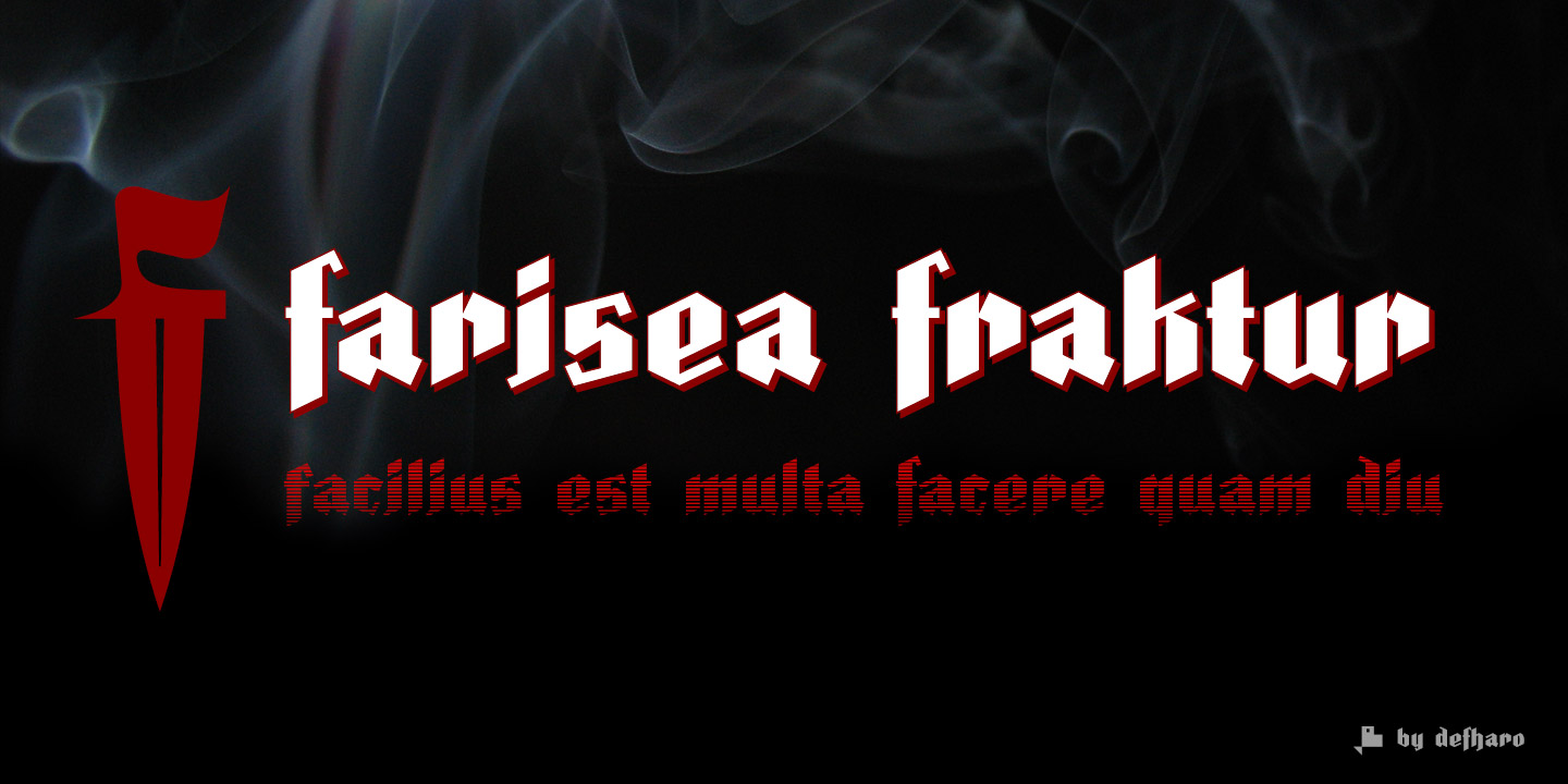 farisea-fraktur-layered-fonts