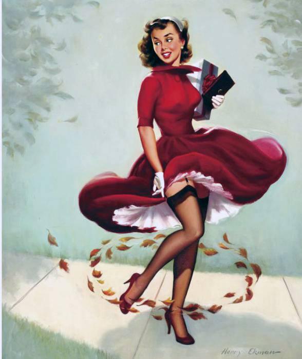Harry ekman ilustrador de pin ups girls vintage retro posters - Photo pin up ...