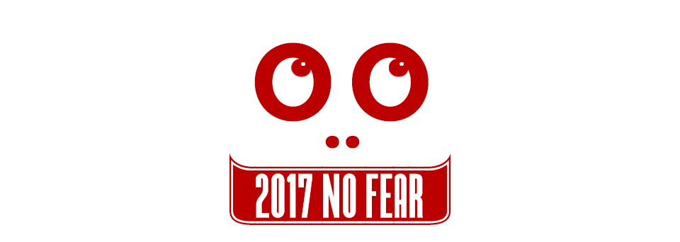 HAPPY NEW YEAR: 2017 NO FEAR