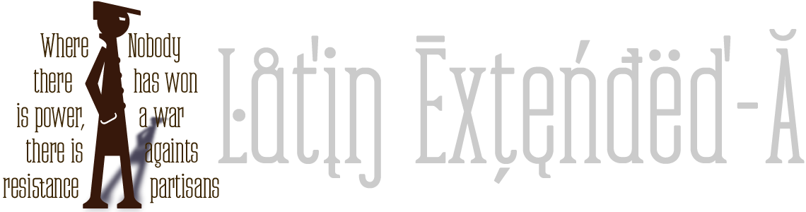 Partizano Retro Serif Font. Small Caps & Latin Extended-A