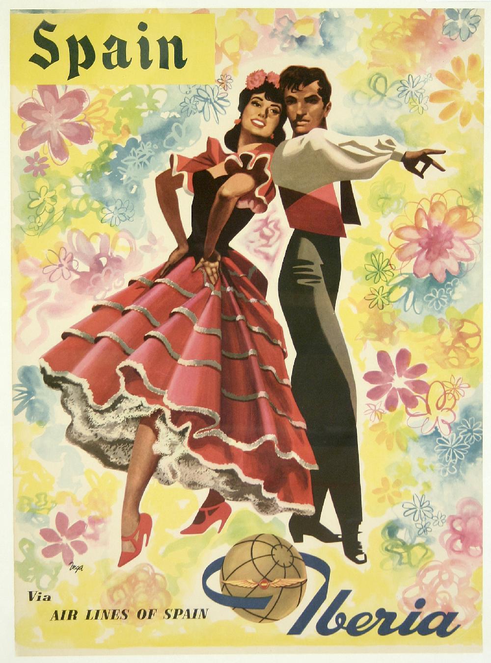 Carteles y afiches de viajes retro posters publicidad vintage - Carteles retro ...