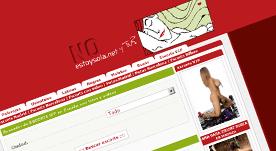 Página web realizada como catálogo de escorts