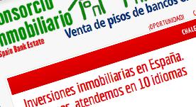Gestor de inmuebles bancarios para la venta. Portal inmobiliario en 11 idiomas independientes