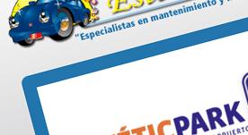 Página web corporativa de servicios en Canarias