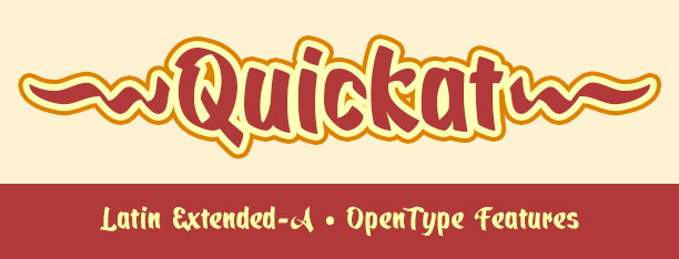 Quickat Calligraphic