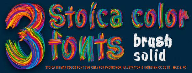 Stoica -SVG Color Font-