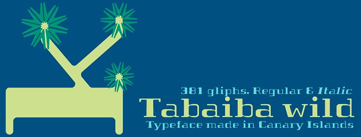 Tabaiba wild font