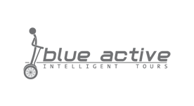 Diseño de logotipo y creación de claim para tours en segway