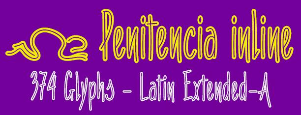 Penitencia inline font