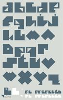 Poster tipográfico de la fuente El Pececito 2013