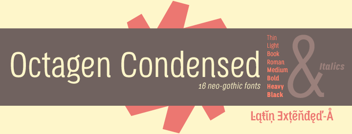 Octagen Condensed