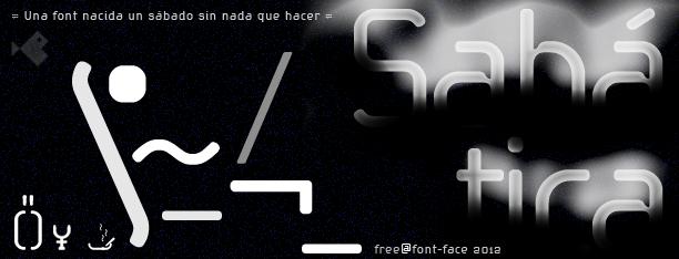 Sabática -3x1 Fonts-