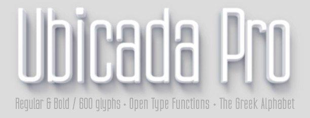 Ubicada Pro Fonts