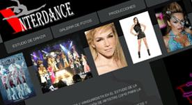 Página web realizada en Flash con galería de fotos y videos