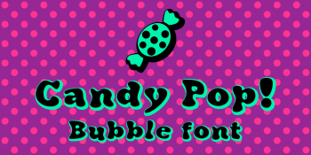 Candy Pop font-back