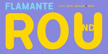 flamante-round-yellow-fonts