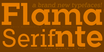 flamante-serif-orange
