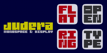 judera-flat-ring-fonts