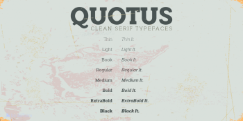 quotus-slab-serif-family