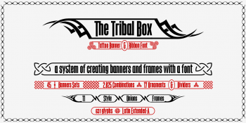 the Tribal Box font