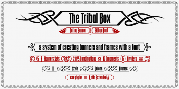 the Tribal Box font system-w